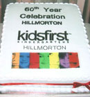 Every good celebration seems to have a cake and our 60th birthday was no exception.